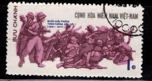 Viet Nam , Viet Cong Michel 38 Used stamp