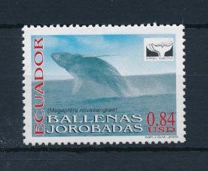 [29116] Ecuador 2000 Marine Life Whale Yaqu Pacha MNH