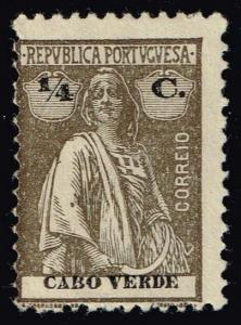 Cape Verde #173 Ceres; Unused No Gum (0.25)