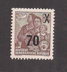 GERMANY - DDR SC# 223 VF OG 1954