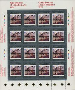 Canada 1271 sheet MNH Art, Thomson The West Wind