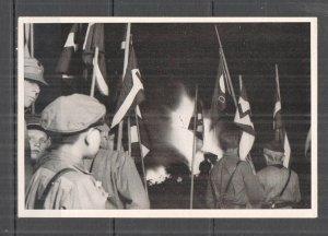 H0768 DEUTSCHES REICH CHILDREN & FIRE WWII RARE PHOTOGRAPHS CIGARETTE CARDS