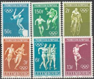 Luxembourg #460-5  MNH