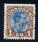 Denmark Scott # 128, used