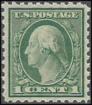 543 Mint,OG,HR... SCV $0.70