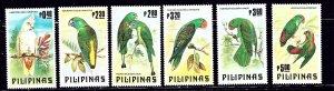 Philippines 1655-60 MNH 1984 Birds    (ap2017)
