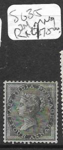 INDIA (PP2609B) QV 4A  SG 35  MNG