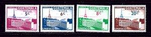 Guatemala C244-47 MNH 1960 Unesco