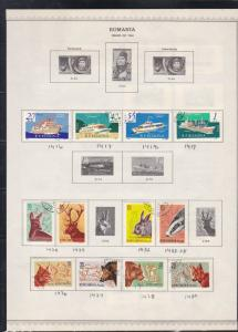 romania issues of 1961/62 stamps page ref 18286