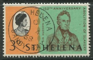 STAMP STATION PERTH St Helena #205 Abolition of Slavery 1968 VFU
