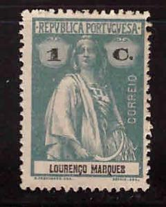 Lourenco Marques  Scott 118 MH*  Ceres stamp with similar centering
