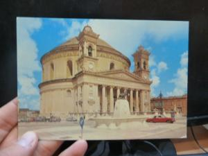 Malta Mosta Church PPC unused (30beu)