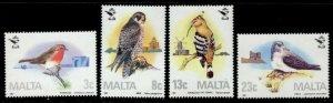 Malta 690-3 MNH Birds