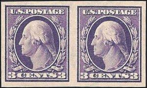 345 Mint,OG,NH... Pair... SCV $40.00