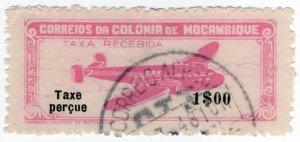 (I.B) Portugal Colonial Revenue : Mozambique $1