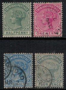 Trinidad #68-71*/u  CV $11.00