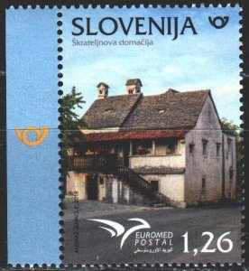 Slovenia. 2018. 1315. House in Slovenia. MNH.