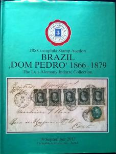 Auction catalogue BRAZIL DOM PEDRO 1866-79 Classic Stamps Covers Postmarks