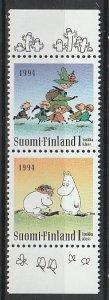 1994 Finland - Sc 931-2 - MNH VF - 1 pr - Friendship