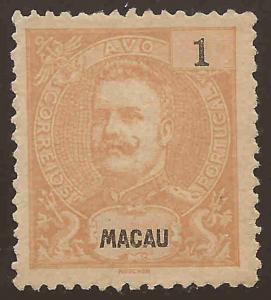 Macao # 76 a   Unused