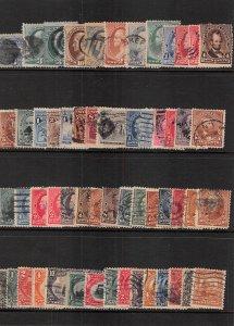 Lot of 106 U.S. Used Stamps Scott Range # 114 - 494 #139148 X