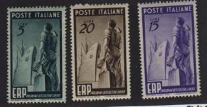 Italy #515-17 Mint VF NH
