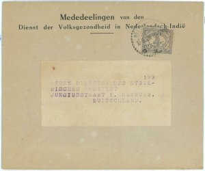93714 - DUTCH INDIES Indonesia - POSTAL HISTORY - SINGLE stamp COVER to GERMANY