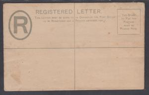 Tobago H&G C1 mint 1892 2p QV Registered Envelope, F-VF