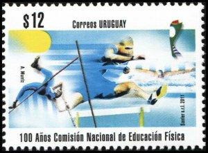 Uruguay. 2011. National Physical Education Commission (MNH OG) Stamp