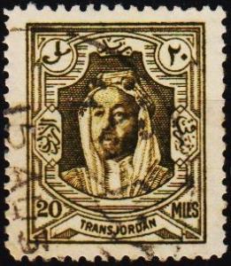 Transjordan.1930 20m S.G.201 Fine Used