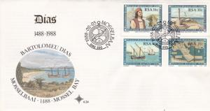 South Africa 1988 500th Anniversary Cape of Good Hope Discovery FDC Unadressed