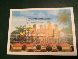 ICOLLECTZONE Grenada 1092 Boy Scouts XF NH (A800)