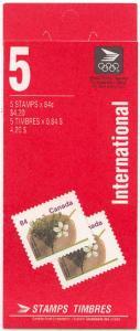 Canada - 1991 84c Stanley Plum Complete Booklet #BK143b