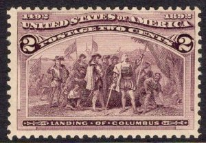 US Stamp #231 Mint Never Hinged SCV $31