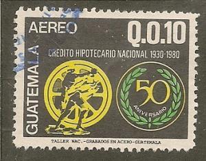 Guatemala  Scott  C759     Bank Anniversary     Used