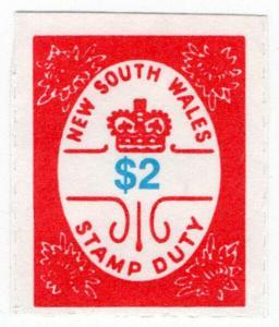 (I.B) Australia - NSW Revenue : Stamp Duty $2