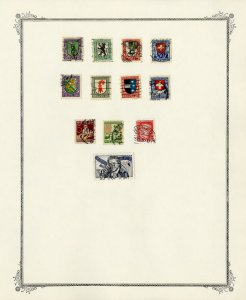 Switzerland Early Stamp Collection