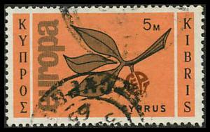 Cyprus 262 Used VF