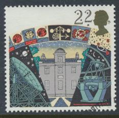 Great Britain  SG 1522 SC# 1336 Used / FU with First Day Cancel - Astronomy