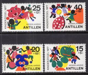 Netherlands Antilles B147-B150 MNH VF