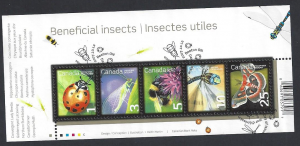 Canada #2238a used ss, beneficial insects, issued 2007