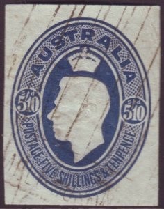 WWII MYER 5/10 FOOD PARCEL LABEL - FINE USED CUT-OUT (A12006)