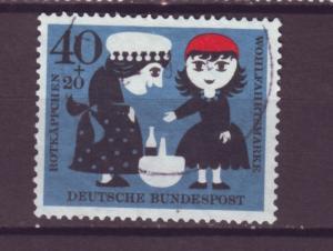J16070 JLstamps 1960 germany hv of set used #b375 children tales