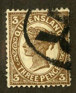 QUEENSLAND 117 USED SCV $3.25 BIN $1.25