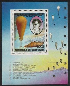 Upper Volta Manned Flight MS 1983 MNH SG#MS658