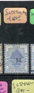 ORANGE FREE STATE  (P0406B)  TREE 1D/3D   SG 54    MOG
