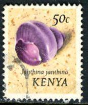 Kenya; 1971: Sc. # 42: O/Used Single Stamp