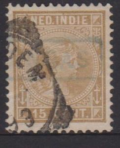 Netherlands Indies Sc#25 Used