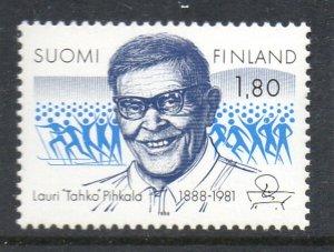 Finland Sc 766 1988 Pikhala stamp mint NH