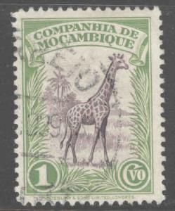 Mozambique Company Scott 175 Used Giraffe stamp